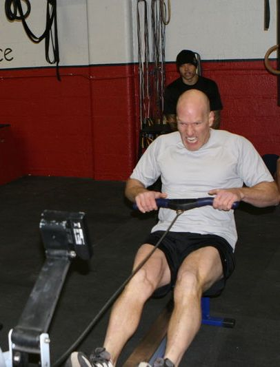 Mike Ray, Rowing. Crossfit Flagstaff