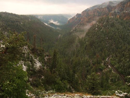 Oak Creek Canyon, by Eileen Schreiber